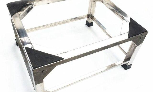 Kühlschrank Halterung : Erhöhung edelstahl waschmaschine trommel standfuß halterung