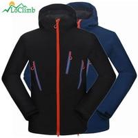 Fleece Softshell Jacket Men Outdoor Trekking Camping Climbing Sport Winbreaker Windproof Waterproof Ski Hiking Jackets AM104