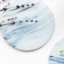 Free shipping Marble patten Ceramic Coasters Cup Drinks Holder Mat Heat insulation Table Placemat Coffee Tea coasters ZAKKA