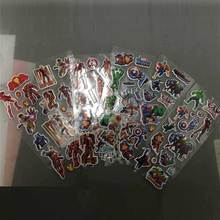 10pcs SuperHeroes Stickers Thor Hulk Graffiti Iron Man Pegatinas Avengers Decals Toy For PVC Scrapbook Gifts Kids