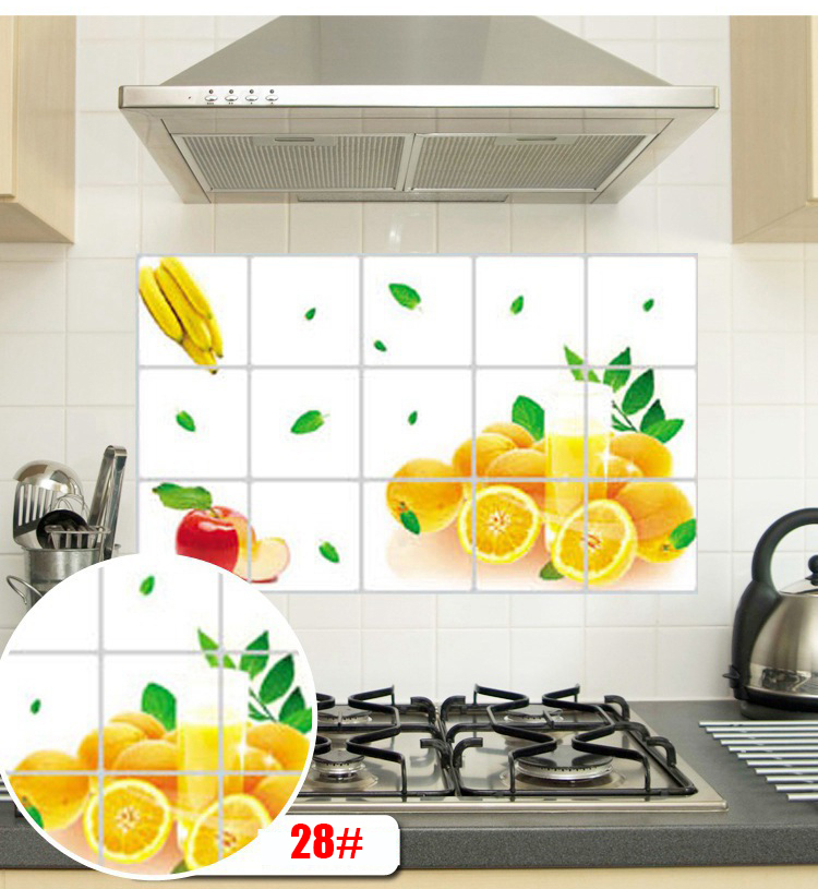 high grade aluminum kitchen foil oil sticker 7545cm anti With kitchen cabinets lowes with no smoking stickers