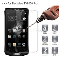 2.5D 9H Premium Tempered Glass For Blackview BV8000 Pro Screen Protector Toughened protective film For Blackview BV8000 Pro