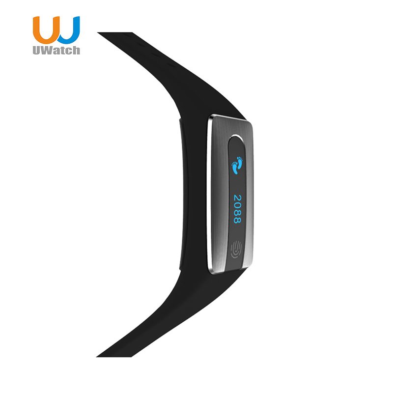 UWatch Bluetooth Smart Band HB02 Smart band bracelet Heart Rate Monitor Sleep Tracker Smart Wristband for