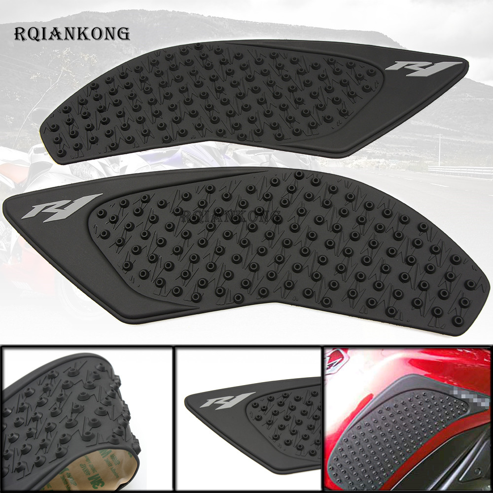 Motorbike Accessories For Yamaha Yzf R1 2015 2016 Yzfr1 R 1 Motorcycle Anti Slip Gas Oil Fuel Tank Traction Pad Protector Knee Grip Side Decal Sticker Delicacies Loved By All
