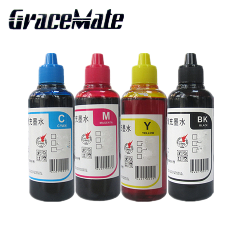 4 color Refill Ink For <font><b>Epson</b></font> T200XL/<font><b>XP</b></font>-100/<font><b>XP</b></font>-200/<font><b>XP</b></font>-300/<font><b>XP</b></font>-<font><b>400</b></font>/XP310/XP410/510/WF-2520/WF-2530/WF-2540 CISS Refill cartridge image