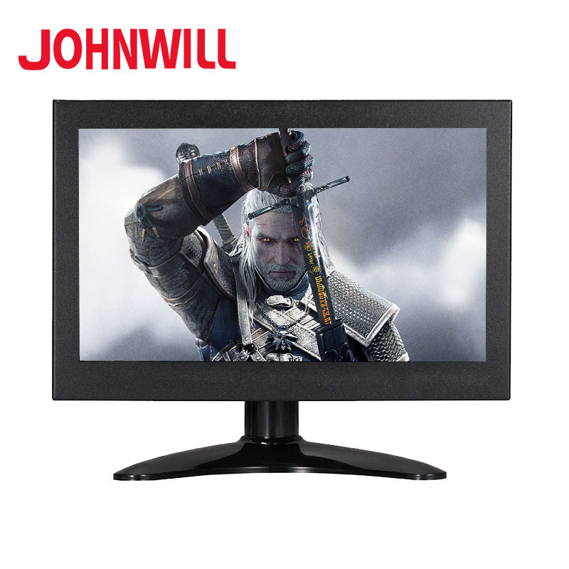 Hot 7 Inch Full HD Monitor 1024x600P Mini Portable Display VGA AV HDMI BNC Input Metal Shell For PS3 Xbox