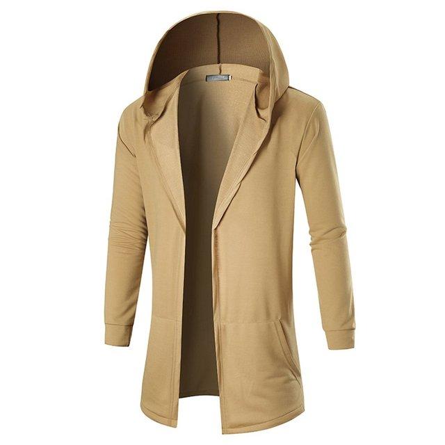 Jampelle 2018 Autumn Winter Windbreaker Slim Trench Long Coat Gothic Cotton Elegant
