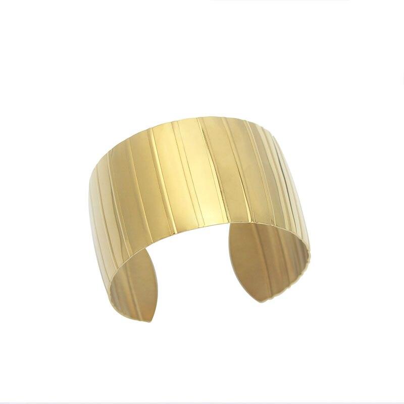 71e6c47dd97 COUYA Gold Color Cuff Bangle Bracelet For Women Men Shiny Pulseiras Para  Wrist Cuff Bracelet Metal Bracelets & Bangles A10050-in Bangles from Jewelry  ...