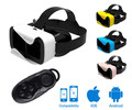 Hot 3D Glasses Virtual reality vr box  3d glasses Support mobile phone 4.7-6 inch with bluetooth controller for smartphone