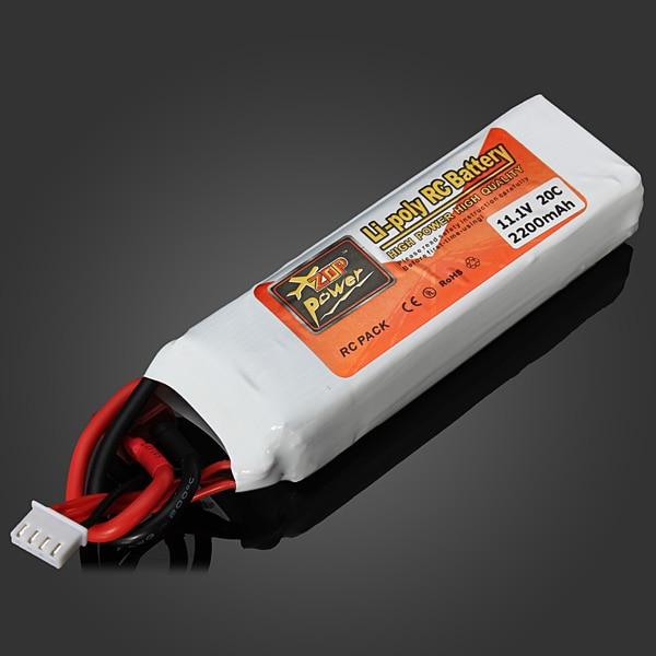2016 New ZOP Power Lipo Battery 11 1V 2200mAh 20C T Plug for font b RC