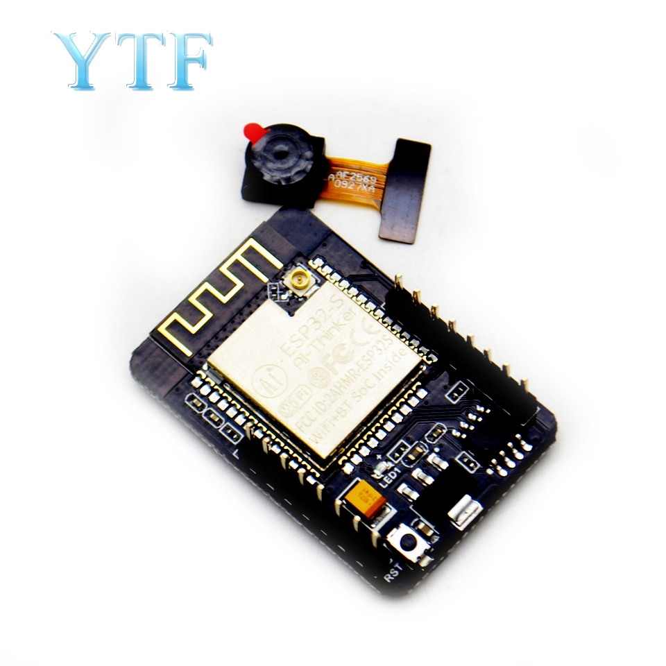 ESP32-CAM WiFi Module ESP32 Serial To ESP32 CAM Board 5V Bluetooth With OV2640 Camera Module For Arduino