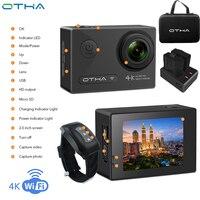 Otha Ночная версия Action Camera Sports DV 2.0 inch Diving 30M Водонепроницаемая видеокамера HD 1080P Mini Camcorder Оригинальная камера WIFI