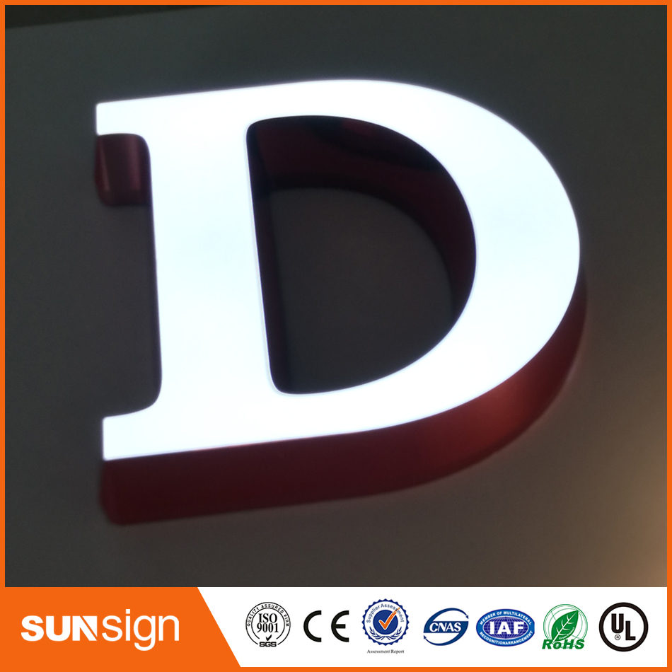 Advertising Plastic Or Acrylic Light Up Letter Signs