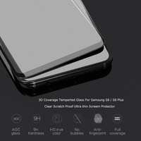 Clear Scratch Proof Ultra Thin Tempered Glass Film For Samsung Galaxy S8 Screen Protector Pelicula De