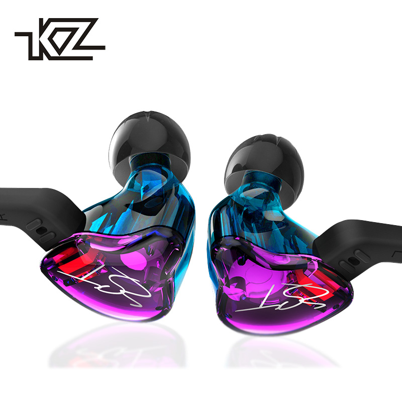 1DD+1BA Hybrid Earphone HIFI DJ Monito Running Headset Sport Stereo Bass Earphones Earplug with Microphone for Smart Phones qkz c6 sport earphone running earphones waterproof mobile headset with microphone stereo mp3 earhook w1 for mp3 smart phones
