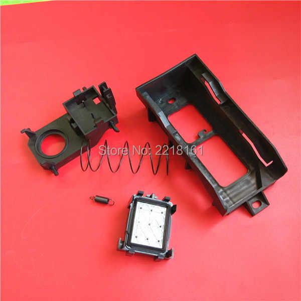1 pc gratis pengiriman format lebar printer DX5 capping perakitan untuk Xenons DX7 printhead wit-warna Yongli cap top ASSY kit bersih