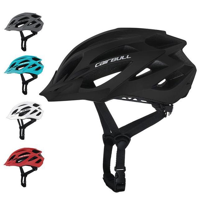 CAIRBULL X-Tracer 남성용 여성용 자전거 헬멧 경량 매트 마운틴로드 바이크 완전 모양의 사이클링 헬멧