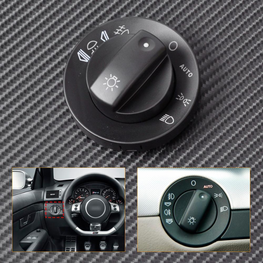 CITALL 8E0941531B Διακόπτης προβολέων + Κάλυμμα αυτόματου ρυθμιστή AUTO για το Audi A4 S4 RS4 B6 B7 Quattro 2002 2003 - 2006 2007 2008