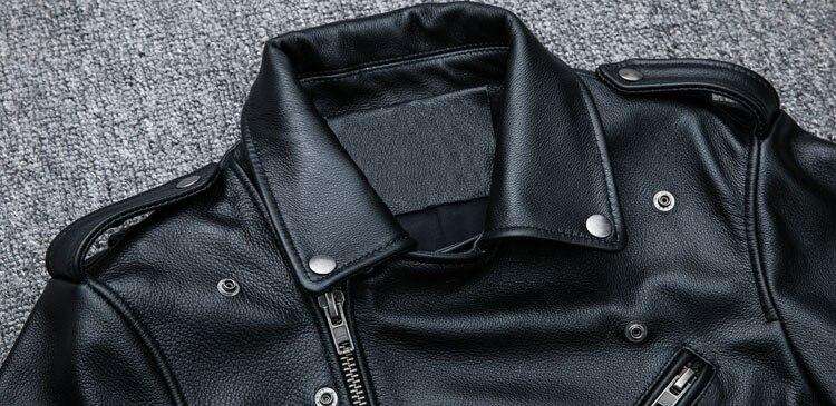 HTB1puVEpH3nBKNjSZFMq6yUSFXa0 MAPLESTEED Classical Motocycle Jackets Men Leather Jacket 100% Natural Calf Skin Thick Moto Jacket Man Biker Coat Winter M192