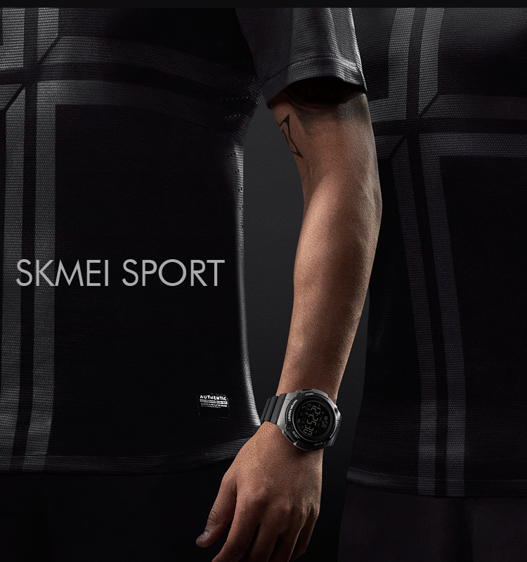 SKMEI 2019 New Bluetooth Sport Smart Watch Men Waterproof Calories Pedometer digital SmartWatch For IOS Android (4)