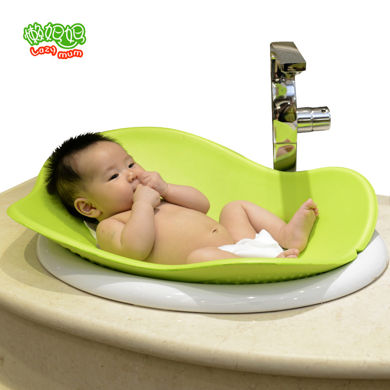ФОТО 2016 New Blooming cushions filled baby shower bath tub baby halo project soft liner 0-3 years old Baby Bath Seat Security Seat