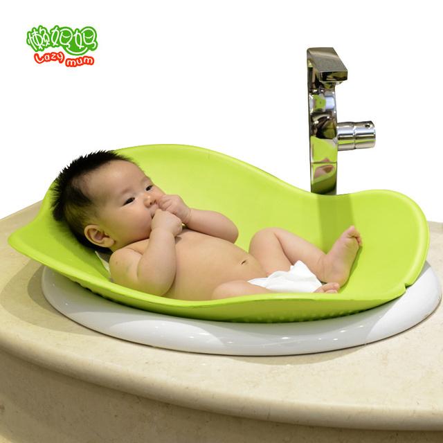 2016 Nueva Floración relleno cojines bebé ducha bañera bebé de halo proyecto de revestimiento suave 0-3 años de edad Del Bebé Baño de Asiento Asiento de Seguridad