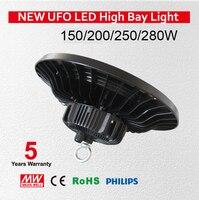 High quality UFO High Bay Led Lights 150w, IP65 UFO Meanwell Driver 150w,UFO 150W Led High Bay Light 135lm/w 5 Years Warranty