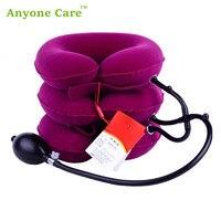 Full Velvet Jiahe Neck Traction Device Household Medical Inflatable Collar Cervical Vertebra Traction Device