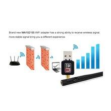 Wireless WiFi Adapter 5dB wifi Antenna 150Mbps Lan Wireless Network Card Portable USB WiFi Receiver Adaptador WiFi 802.11b/g/n