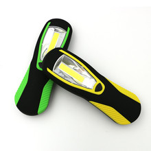 Portable COB Led Flashlight Lightweight Work Light Lamp Torch Lantern With Magnetic And Hook for For