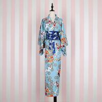 Japanese Style Kimono 2017 Fashion Brand Long Bronzing Butterfly Pattern Dress Female Was Thin Beautiful Kamino