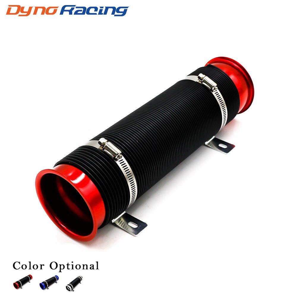 カー修正用品テレスコピックチューブ換気チューブ吸気管 76 ミリメートル拡張可能なコールドエアインテークキット YC100458