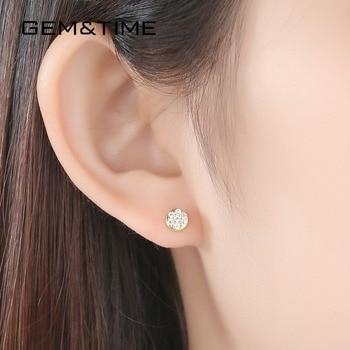 14K Gold Stud Earrings 2