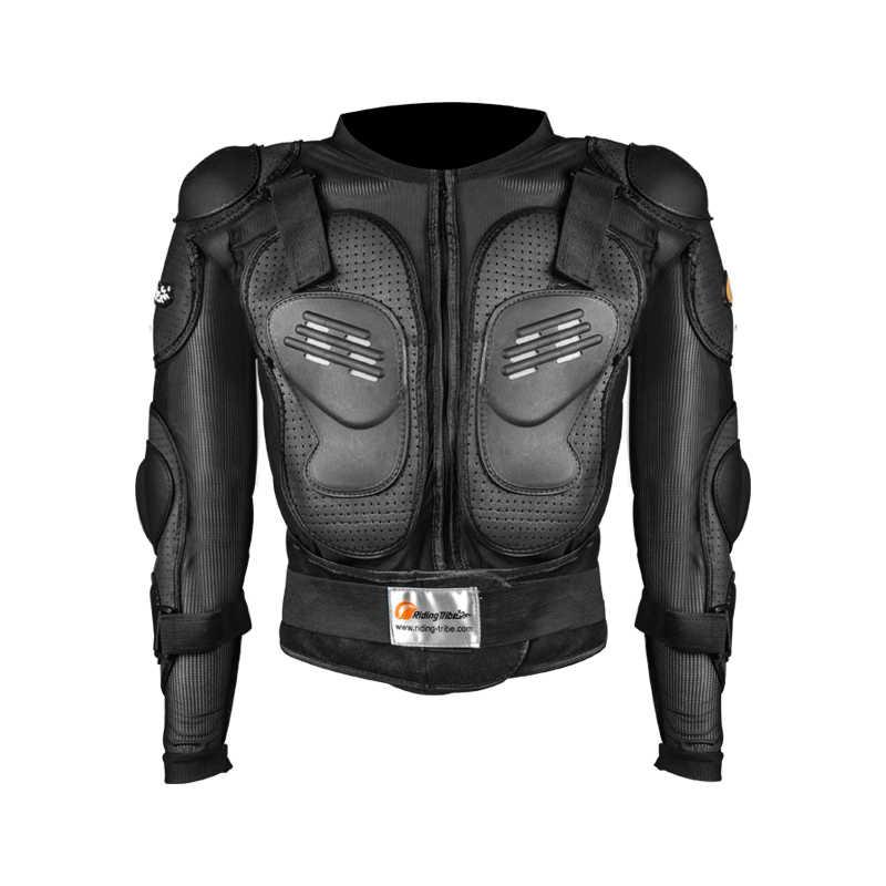 Combinaison d'armure corporelle de Moto Motocross Racing équipement de protection veste de Moto + masque + genouillères de Moto + lunettes + gants garde