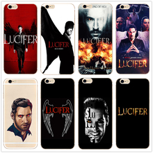 Lucifer American TV New hard clear phone Case cover for For iPhone 11 Pro Max 6 7 8plus 5S X XS XR XSMax Samsung s9 s8plus