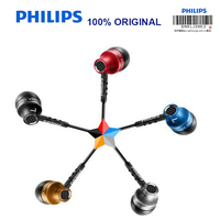 Philips Original SHE9100 Headset With 3 5mm In Ear Noise Cancelling Earphone Multi Color Selection For