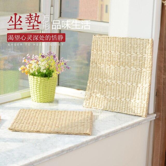 Futon Tatami 43 45cm square bay window futon cattail tatami ultra thin