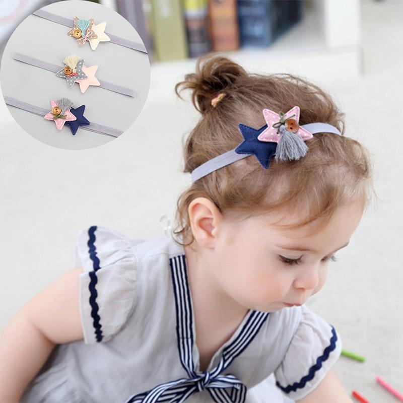 WHTLY Fashion nieuwe kinderen haaraccessoires baby haarband hoofdband - Babykleding - Foto 5