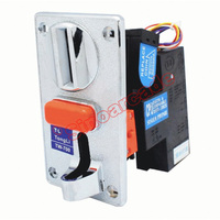 Advanced Comparable Zinc Alloy Front Entry Single Coin Selector TW 700 Coin Acceptor for Vending Machines Arcade Game Cabinets