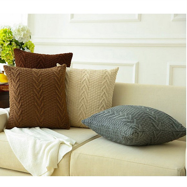 Arun Knitted Cushion Covers 1