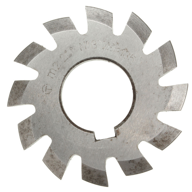 Wholesale Price Diameter 22mm M2 20 Degree #8 Involute Module Gear Cutters HSS High Speed Steel NEW Machine Tools Accessories статуэтка involute