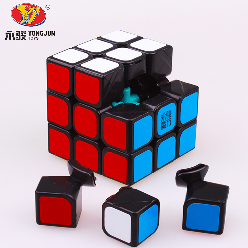 YongJun Chilong 3x3x3 Magic Puzzles Cube YJ 3 Layer Magic Speed Cube Professional Competition Cube MoYu Neo Cubo Magico For Kids