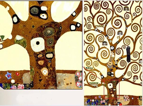 3 pcs Gustav Klimt Tree of Life Living room Mural for home ...