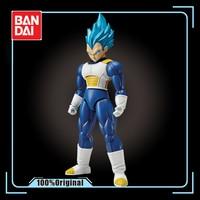 Bandai Assembled Model 55593 Figure rise Dragon Ball Z Super Saiyan Vegeta Blue Hair Action Figure Kids Toy Gift