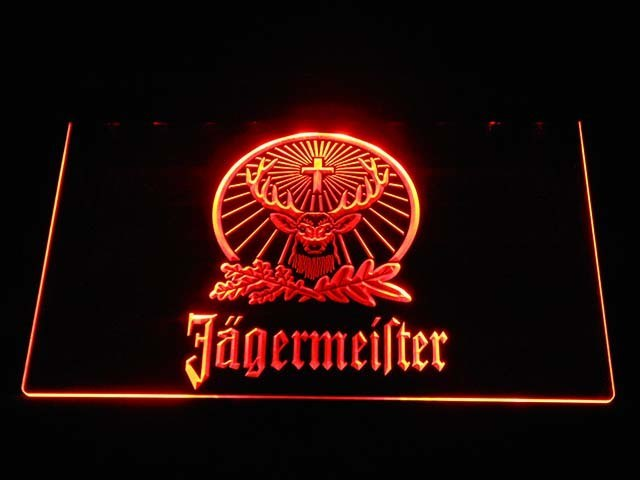 Jägermeister Deer LED Neon Logo 2