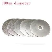 KItchen Knife Diamond Plate Whetstone Round Diamond Chassis Sharpener For Knife Polishing Tools 100mm 46 60