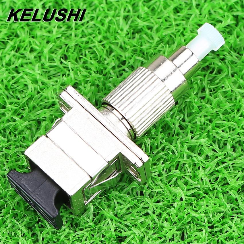 KELUSHI High Quality FC/UPC To SC/UPC Male To Female Mutimode 62.5/125 Fiber Optical Hybrid Adapter FC-SC Adapter Coupler