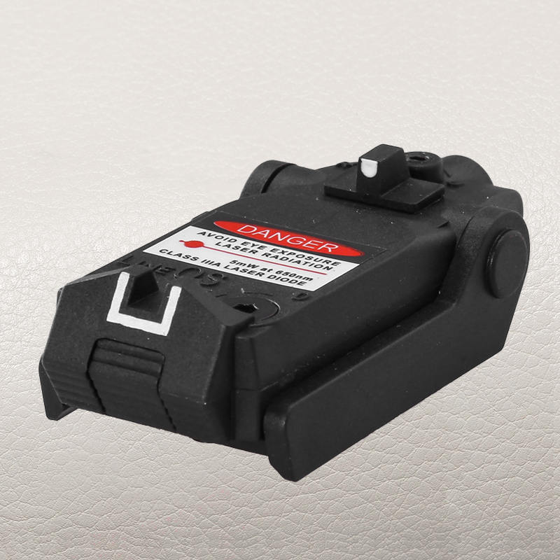 New Tactical Compact Pistol Hand Gun Red Laser Sight for Glock 17 18C 22 34 Series Low Base Mount
