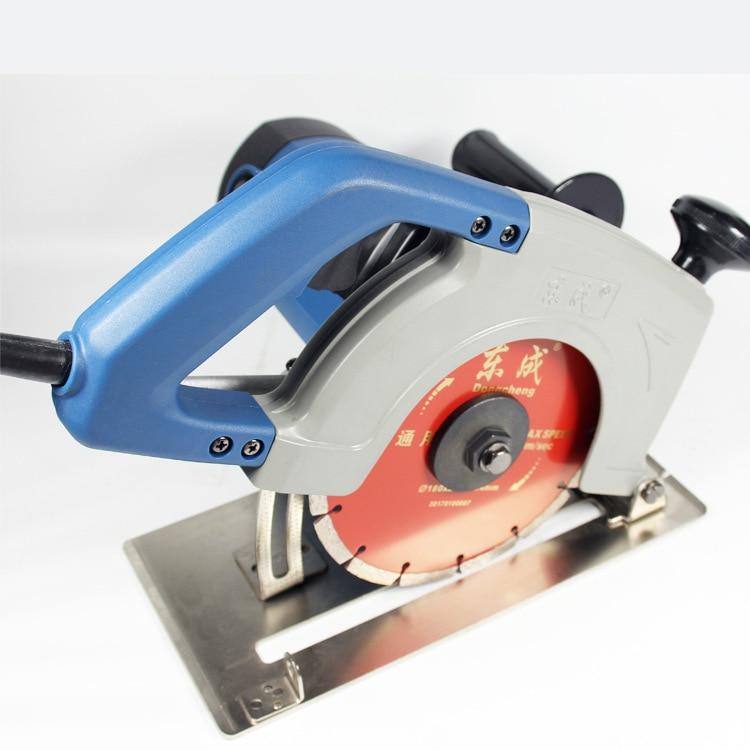 Elektrische zaag 1900W marmeren snijder 180mm tegelzaag Elektrische marmeren zaagsteen snijmachine (gratis koolborstel)