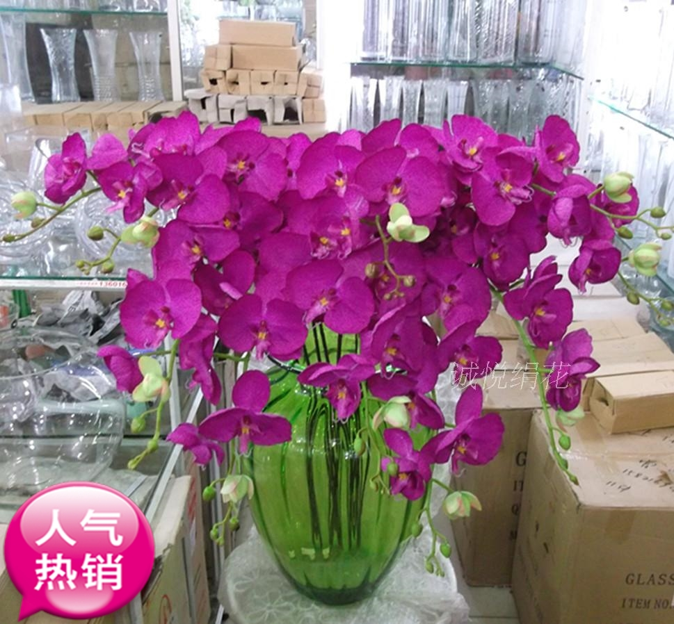 Phalaenopsis Flowers Flowers Decorate The Living Room Simulation Plastic  Flower Bouquet Floral Decoration Decoration